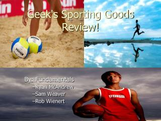 Geek's Sporting Goods Review!