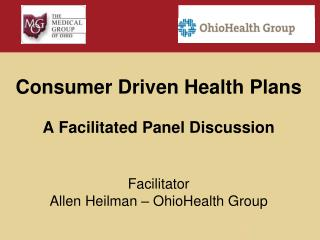 Participation in Consumer Driven Health Plans is here to stay and will continue to increase.