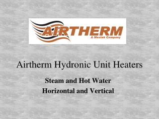 Airtherm Hydronic Unit Heaters