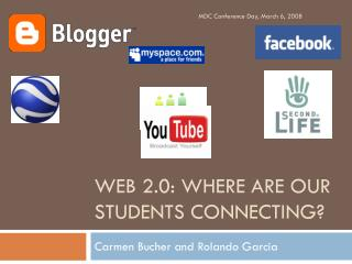 Web 2.0: Where are our students connecting?