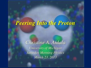 Peering Into the Proton
