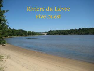 Rivière du Lièvre rive ouest