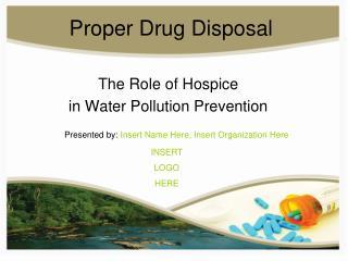 Proper Drug Disposal