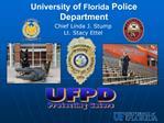 University of Florida Police Department