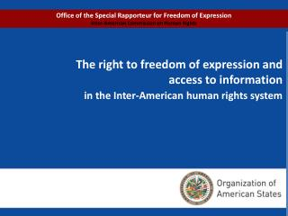 PROGRAM The Inter-American human rights system