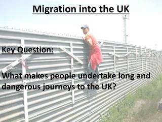 Migration into the UK