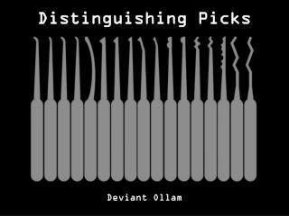 Distinguishing Picks