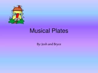 Musical Plates