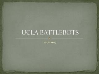 UCLA BATTLEBOTS