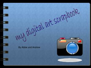 my digital art scrapbook