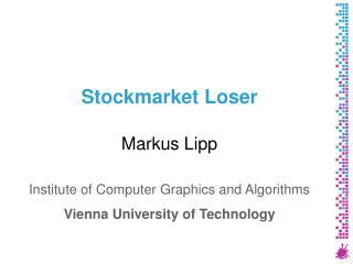Stockmarket Loser