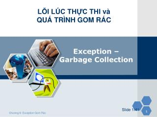 Exception  –  Garbage  Collection