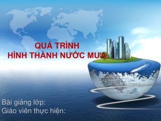 QU� TR�NH  H�NH TH�NH N??C M?A