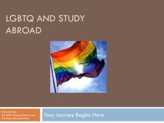 LGBTQ and Study Abroad