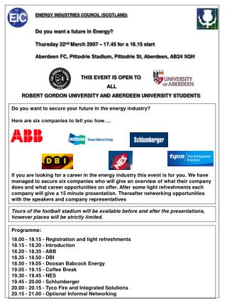 Do you want to secure your future in the energy industry?