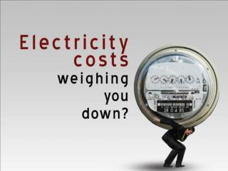 COST OF ELECTRICITY (per kwh)