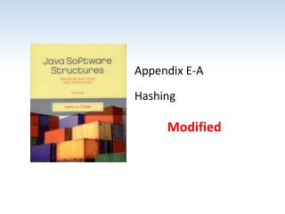 Appendix  E-A Hashing
