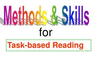 Methods & Skills