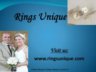 Wedding and Engagement Rings - Ringsunique