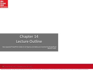 Chapter 14   The Lymphatic System and Immunity