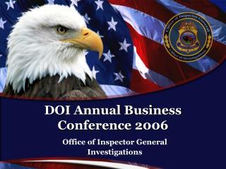 DOI Annual Business Conference 2006