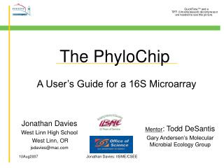 The PhyloChip