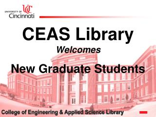 CEAS Library Welcomes New Graduate Students
