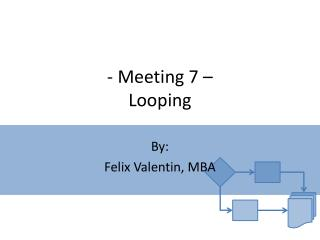 - Meeting 7 – Looping
