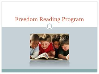 Freedom Reading Program