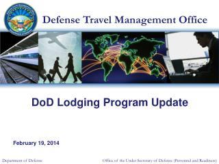 DoD Lodging Program Update