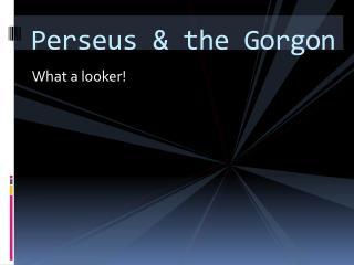 Perseus  & the Gorgon