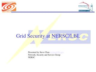 Grid Security at NERSC/LBL