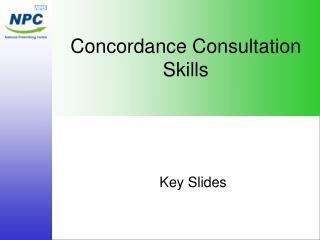 Concordance Consultation Skills