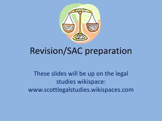 Revision/SAC preparation
