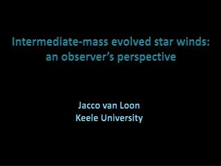 I ntermediate-mass evolved star winds: an observer's perspective