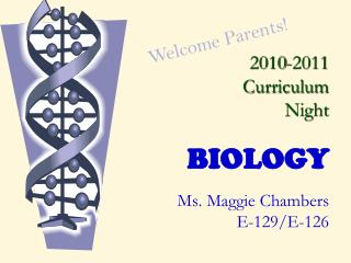 2010-2011 Curriculum Night