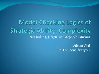 Model Checking Logics of Strategic Ability: Complexity