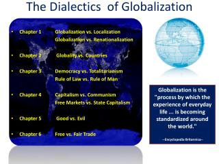 The Dialectics   of Globalization