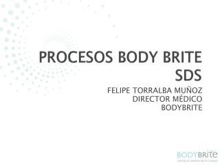 PROCESOS BODY BRITE SDS
