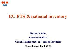 EU ETS  & national inventory