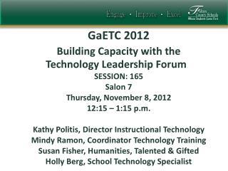 GaETC  2012