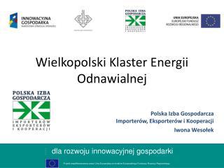 Wielkopolski Klaster Energii Odnawialnej
