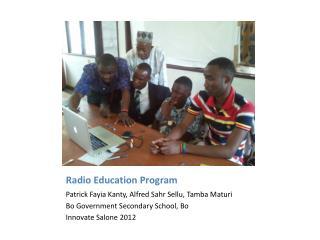 Radio Education Program