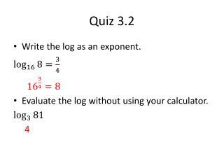 Quiz 3.2