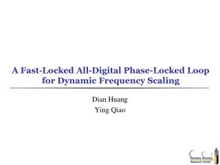 A Fast-Locked All-Digital Phase-Locked Loop for Dynamic Frequency Scaling