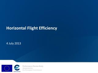 Horizontal Flight Efficiency