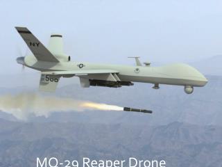 MQ-29 Reaper Drone