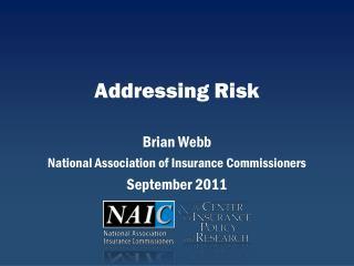 Addressing Risk