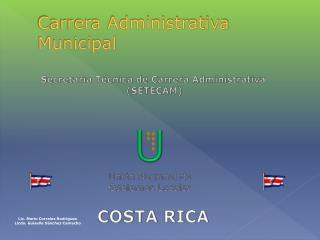 Carrera Administrativa Municipal