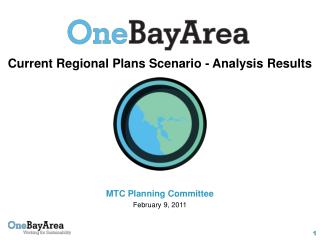 Current Regional Plans Scenario - Analysis Results